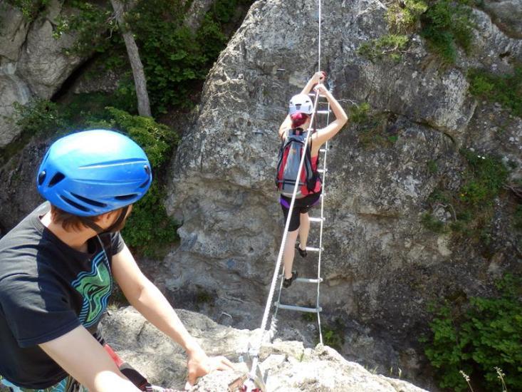Mödlinger Klettersteig : Klettersteig mödling